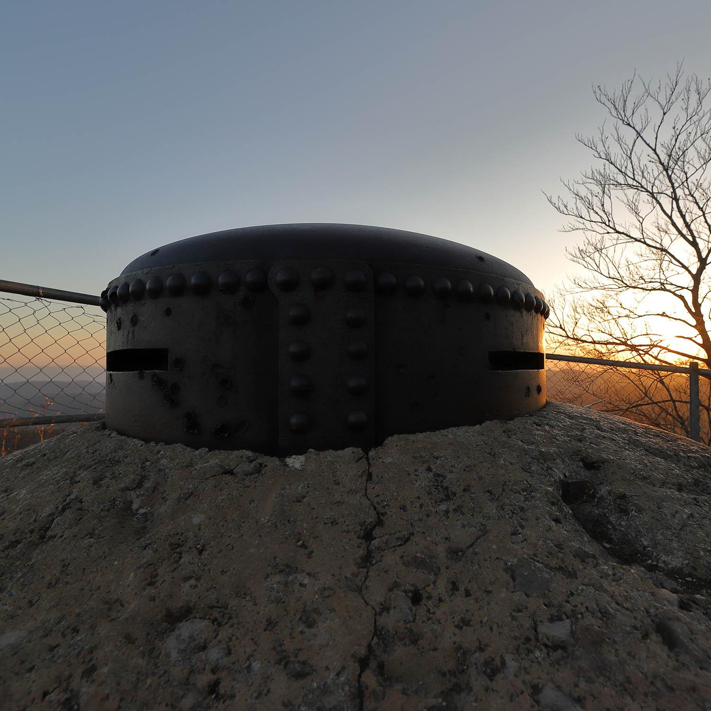 Fortifiktaion Hauenstein: Panzertürmli auf der Lauchflue. (Bild: Diego Sonderegger, Fotograf Verein Fortifikation Hauenstein)